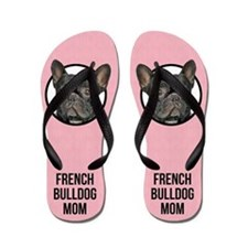 French Bulldog Mom Flip Flops