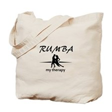 Rumba my therapy Tote Bag