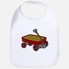 Red Wagon Bib