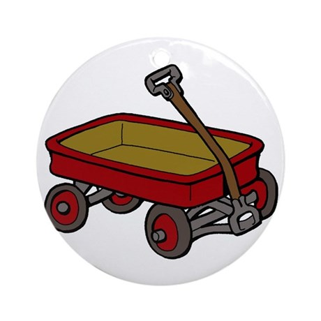 Our Father S Design Red Wagon