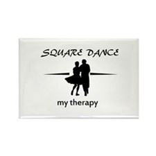 Square my therapy Rectangle Magnet