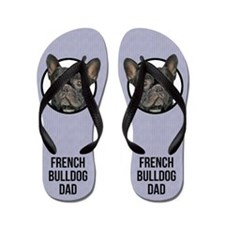 French Bulldog Dad Flip Flops