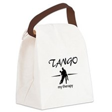 Tango my therapy Canvas Lunch Bag
