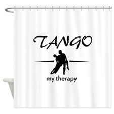 Tango my therapy Shower Curtain