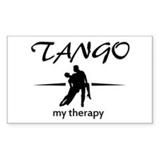 Tango my therapy Decal