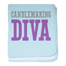 Candlemaking DIVA baby blanket
