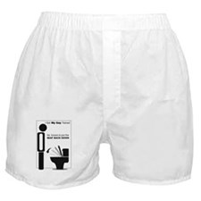 Trained guy Boxer Shorts