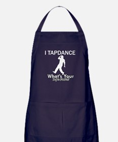 TapDance my superpower Apron (dark)