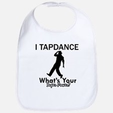 TapDance my superpower Bib