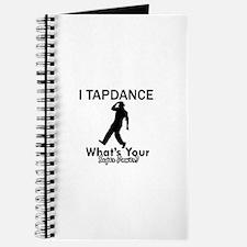 TapDance my superpower Journal