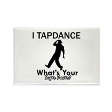 TapDance my superpower Rectangle Magnet (10 pack)
