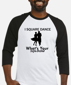 Square my superpower Baseball Jersey