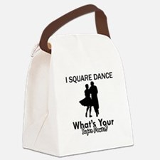 Square my superpower Canvas Lunch Bag