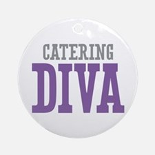 Catering DIVA Ornament (Round)