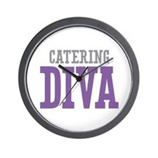 Catering DIVA Wall Clock