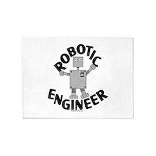 Robotic Engineer 5'x7'Area Rug