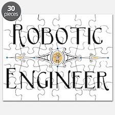 Robotic Engineer Line Puzzle
