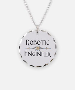 Robotic Engineer Line Necklace