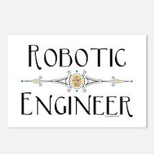 Robotic Engineer Line Postcards (Package of 8)