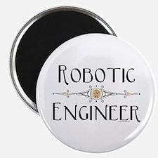 "Robotic Engineer Line 2.25"" Magnet (10 pack)"