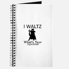 Waltz my superpower Journal