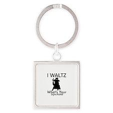 Waltz my superpower Square Keychain