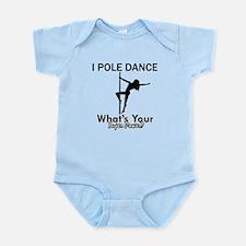 Poledance my superpower Infant Bodysuit