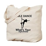 Pole dancing Totes & Shopping Bags