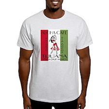 Aloha Cafe Ash Grey T-Shirt