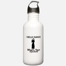 Bellydance my superpower Water Bottle