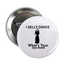 "Bellydance my superpower 2.25"" Button (10 pack)"