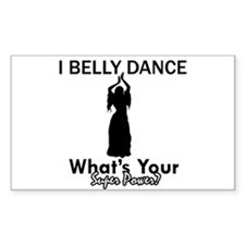 Bellydance my superpower Decal