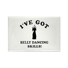 Belly Dance skills Rectangle Magnet