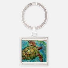 Sea turtle! Wildlife art! Keychains
