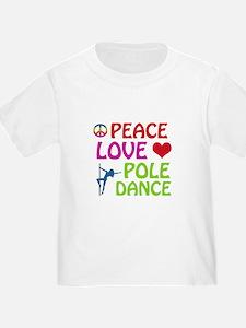Peace Love Poledance T