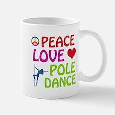 Peace Love Poledance Mug