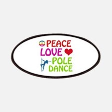Peace Love Poledance Patches