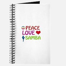 Peace Love Samba Journal