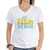 Beach Womens V-Neck T-shirts