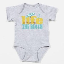 Life's Better Beach Baby Bodysuit
