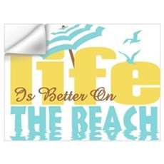 Life's Better Beach Wall Art Wall Decal