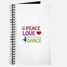 Peace Love Scottish Highland Journal