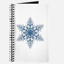 Blue Snowflake Journal