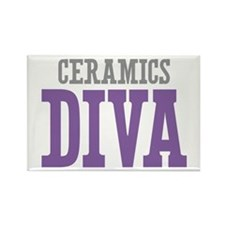 Ceramics DIVA Rectangle Magnet