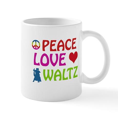 Peace Love Waltz Mug