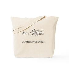 Christopher Columbus Signature Tote Bag
