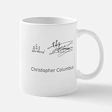 Christopher Columbus Signature Mug
