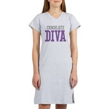 Chocolate DIVA Women's Nightshirt