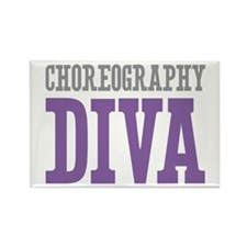 Choreography DIVA Rectangle Magnet