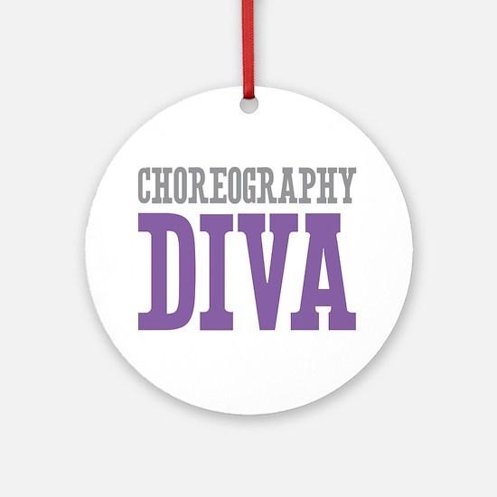 Choreography DIVA Ornament (Round)